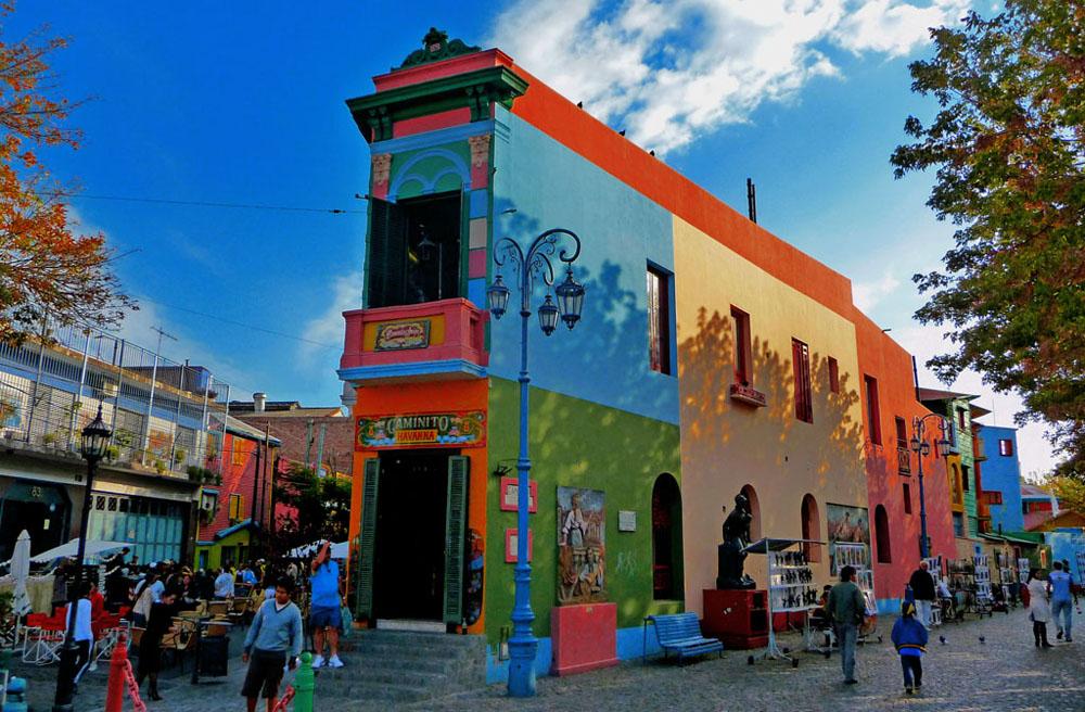 Caminito en La Boca - Turismo en Buenos Aires